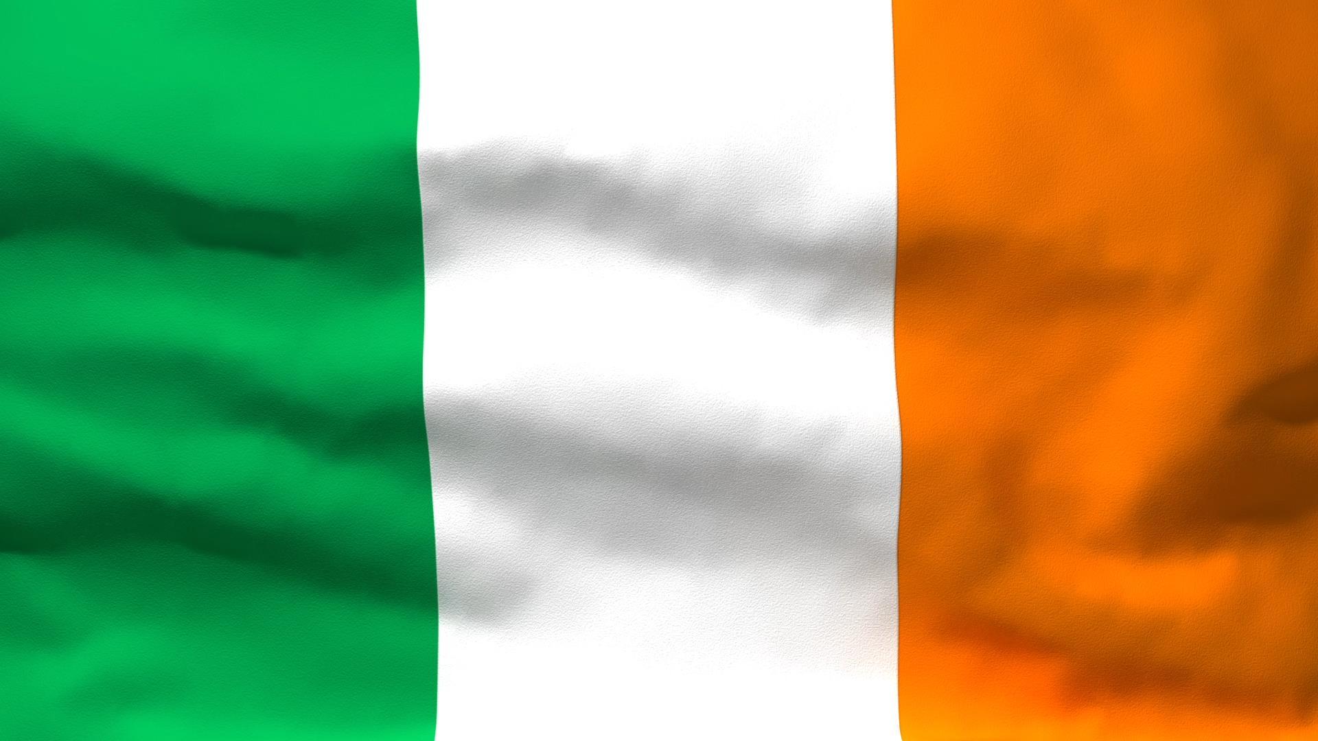 Znalezione obrazy dla zapytania irlandia flaga