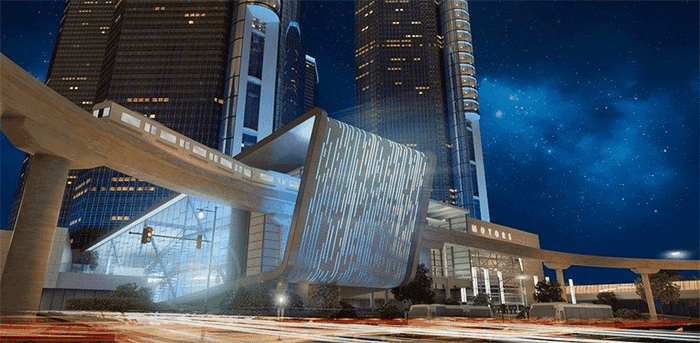 GM Renaissance Center Render 01