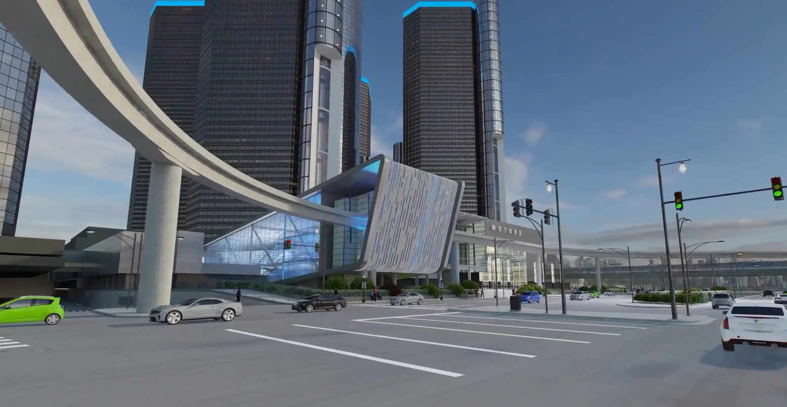 GM Renaissance Center Render 02