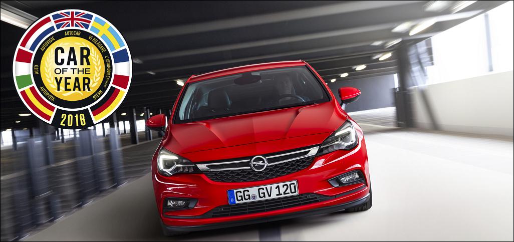 Samochód Roku 2016 Opel Astra V