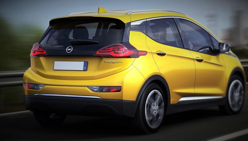 Opel Ampera-e tył2