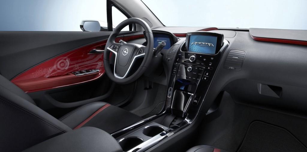 Wnętrze Opel Ampera-e