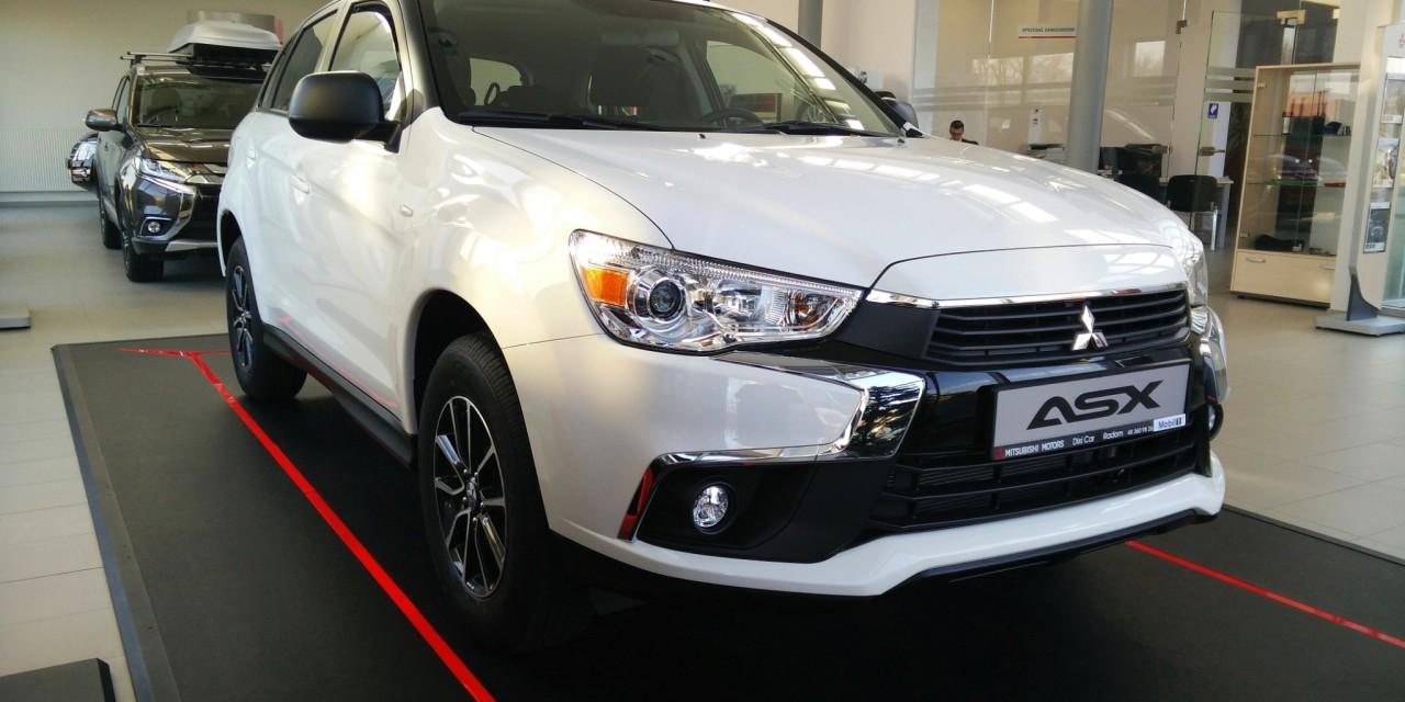 Odświeżone Mitsubishi ASX