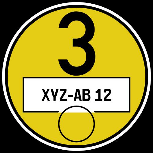 Żółta-plakietka-umweltzone