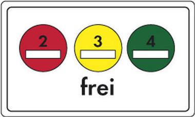Feinstaubverkehrsschild_UmweltzonenAnfang+Plakettenschild