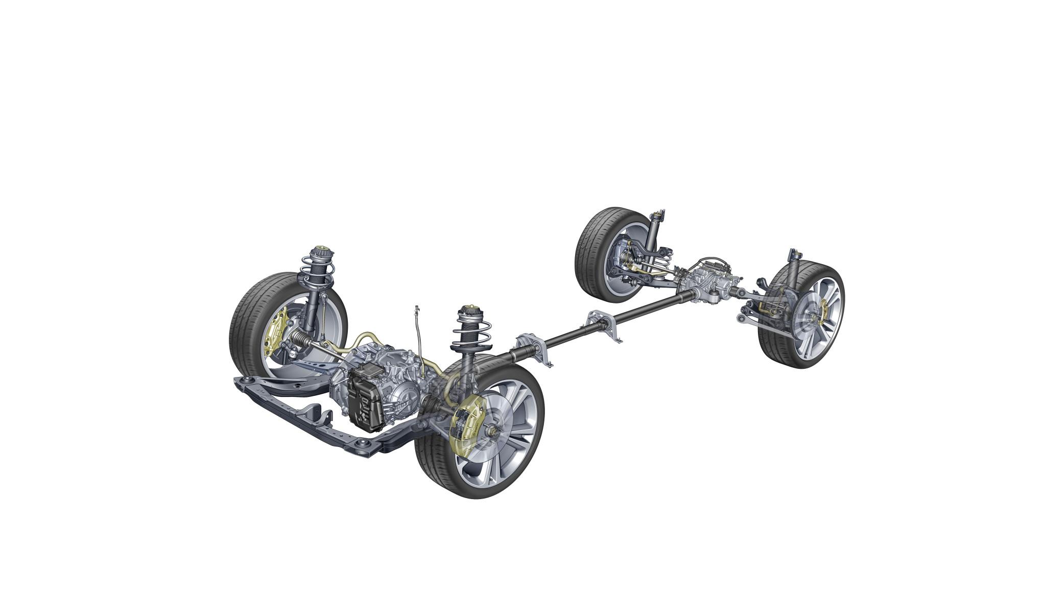 Napęd na wszystkie koła w Insignii może kierować moment obrotowy na jedno lub obydwa tylne koła niezależnie, co umożliwia wektorowanie momentu obrotowego w całym zakresie osiągów samochodu.