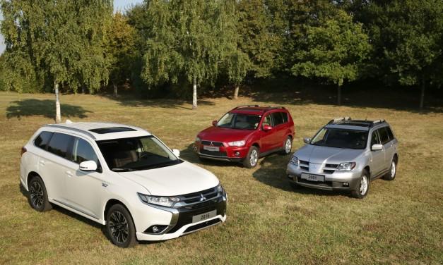 Mitsubishi Outlander przekracza granice od 16 lat