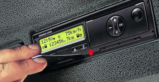 Tachograf cyfrowy – wymagania od użytkownika