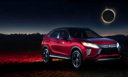 Mitsubishi Motors pokazała nowy Eclipse Cross w cieniu całkowitego zaćmienia słońca
