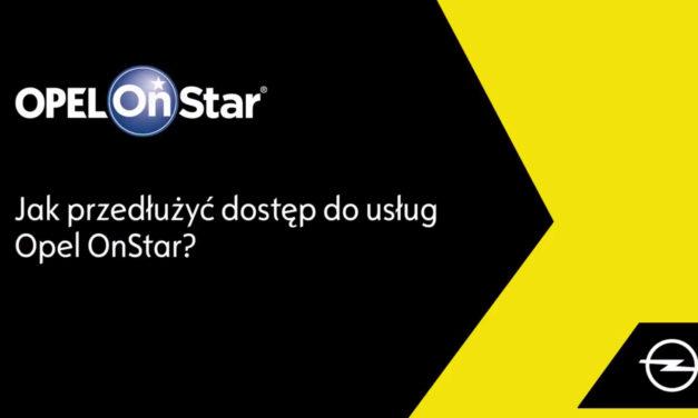 Jak to działa? Jak przedłużyć abonament Opel OnStar