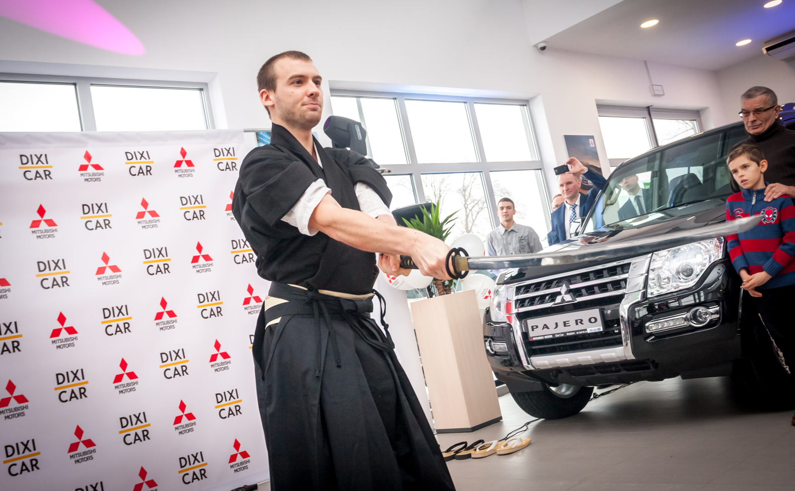 Salon Dixi-Car, samuraj, Mitsubishi Pajero
