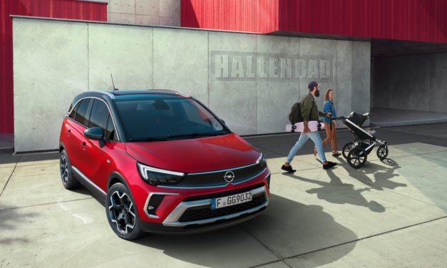Nowy Opel Crossland- nowy wygląd, wygodniejsze wnętrze, lepsze osiągi