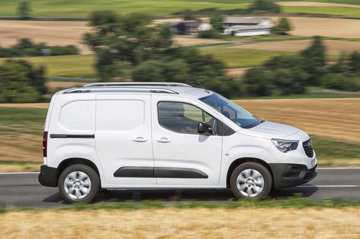 Opel Combo CARGO 2021 - Dane Wymiary Silniki - OPEL Dixi-Car