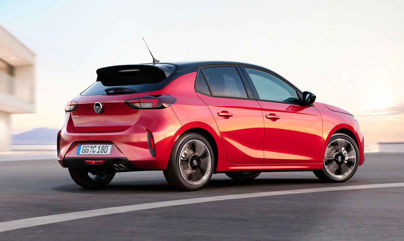 opel corsa f 2020 - dane wymiary silniki - opel dixi-car