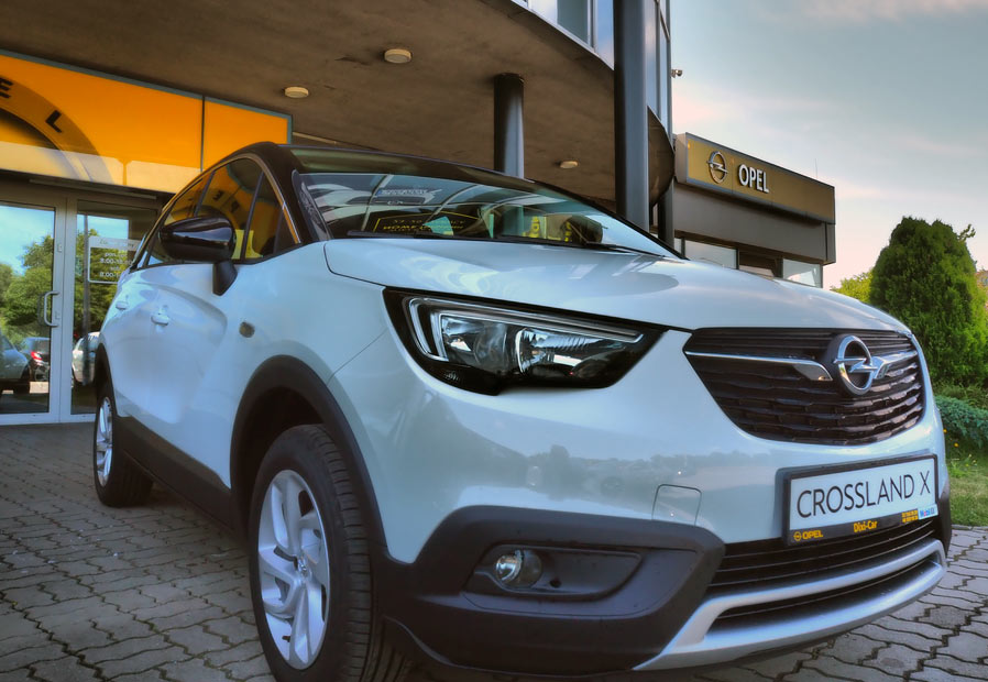 Crossland X Elite, salon Opel