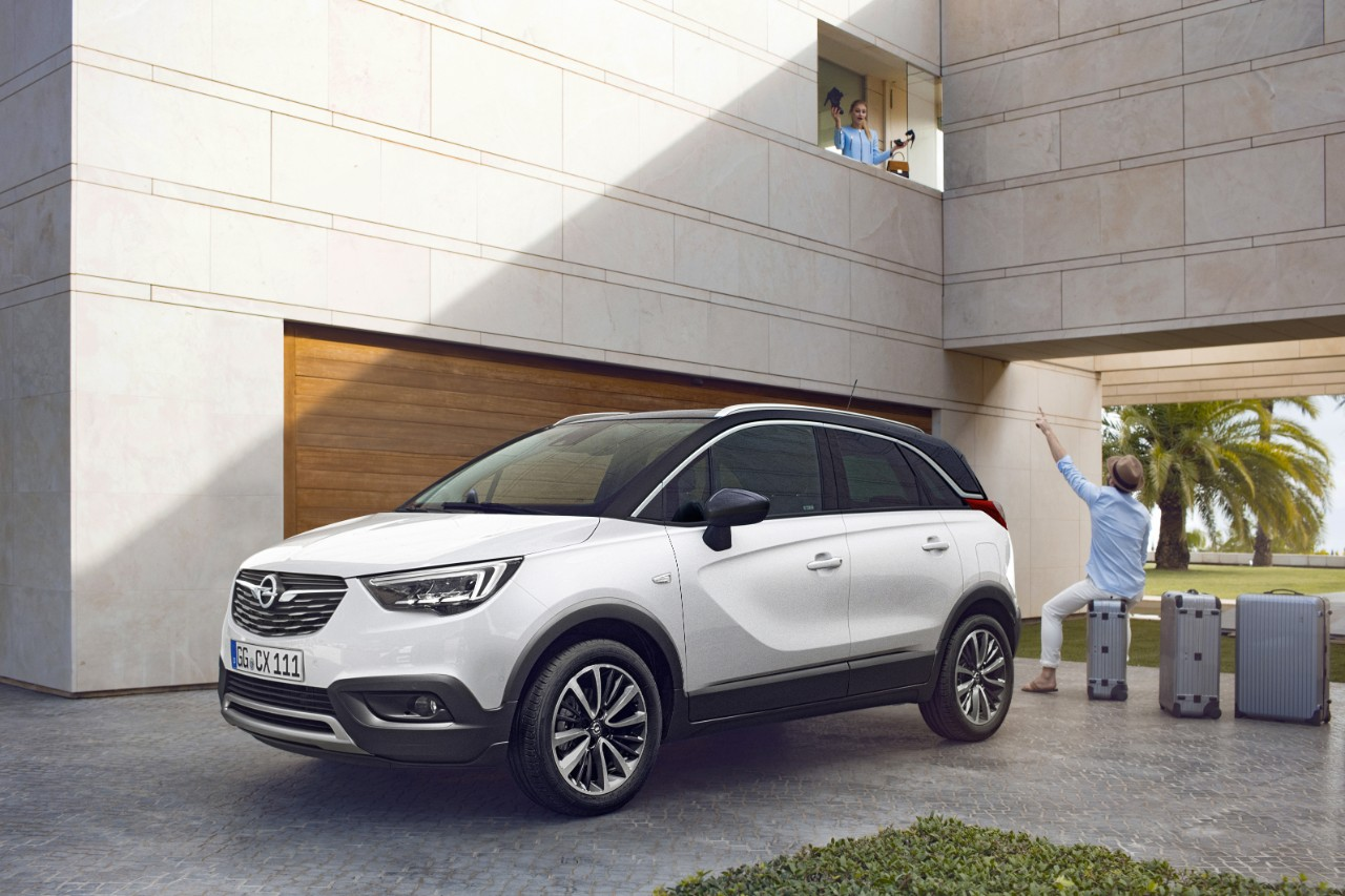 nowy crossover opel crossland x 2018 dixi car. Black Bedroom Furniture Sets. Home Design Ideas