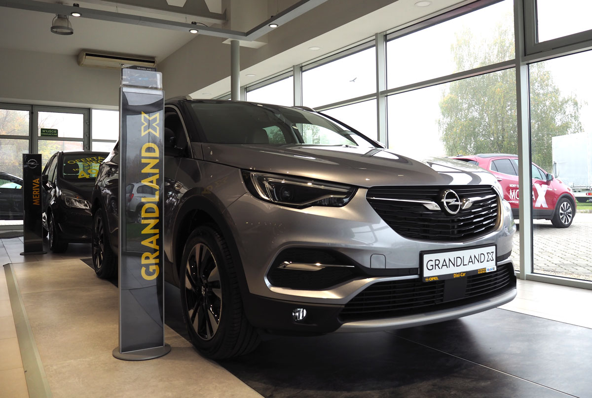 Opel Grandland X Innovation, salon Opel
