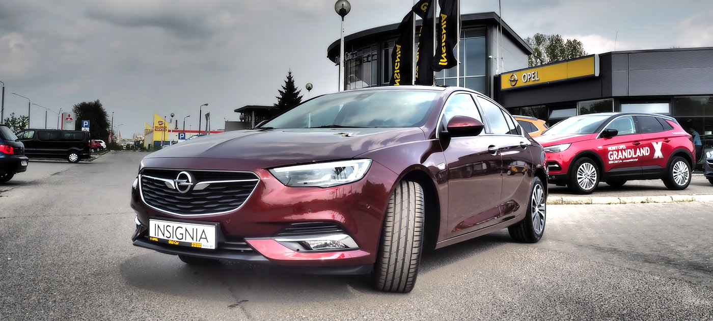 Insignia Grand Sport Elite bordowy Rouge Brown