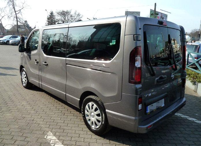 opel vivaro bus 1 6 140km extralong dostawcze dixi car. Black Bedroom Furniture Sets. Home Design Ideas