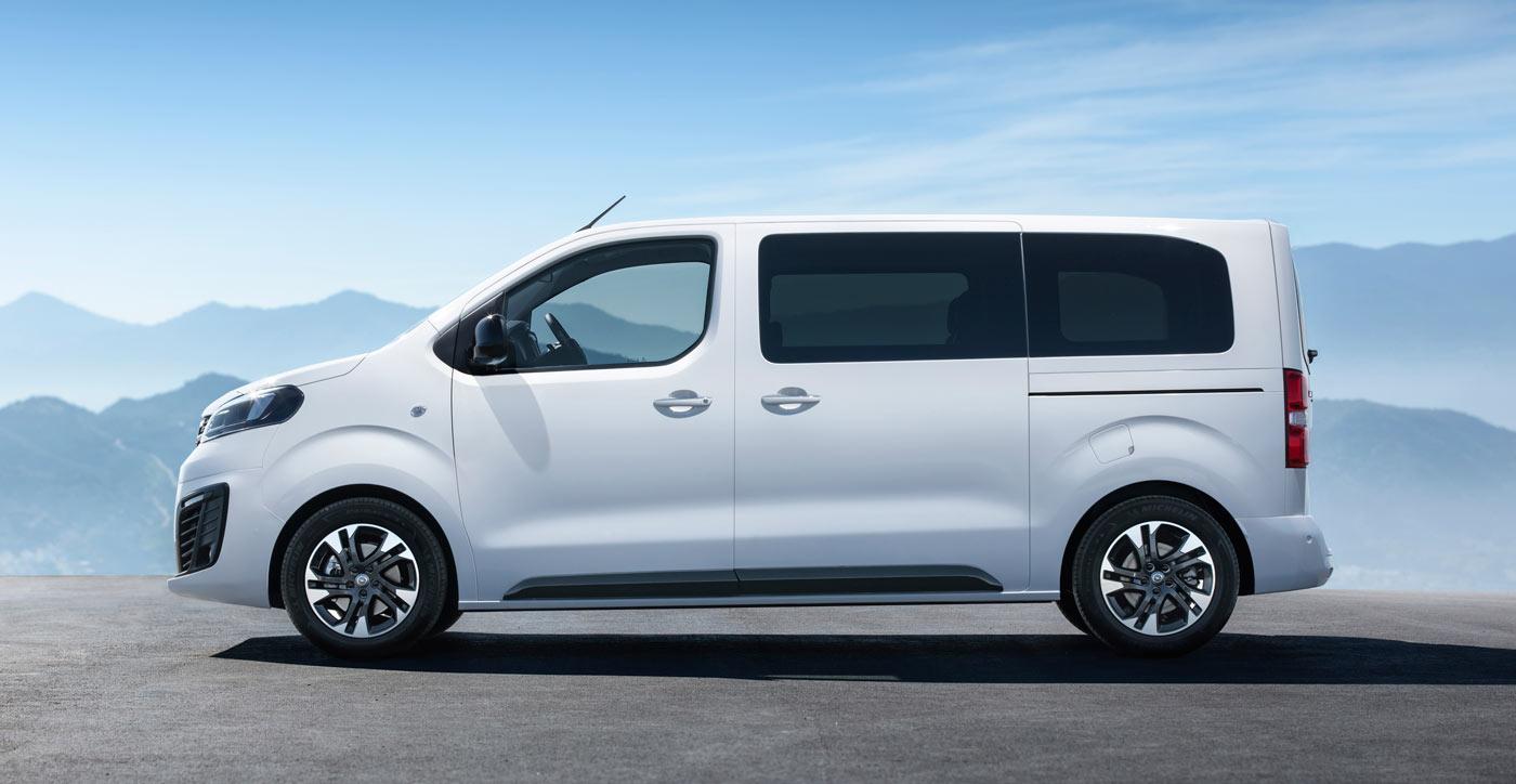 Opel zafira life camper