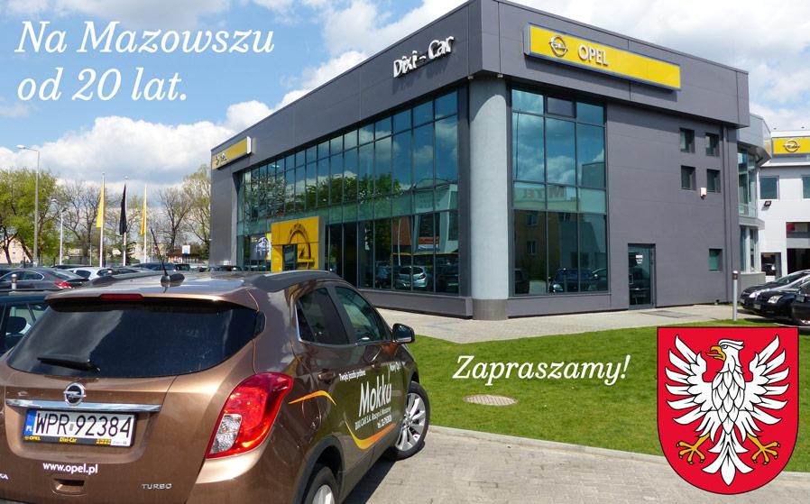 Nietypowy Okaz OPEL salony, serwisy MAZOWIECKIE - Dixi-Car OL02