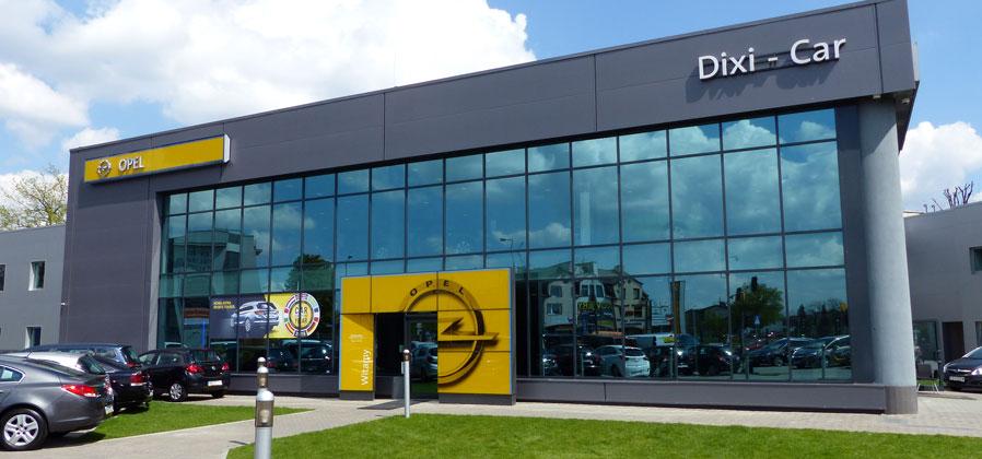 Salon Opel Dixi-Car w Raszynie