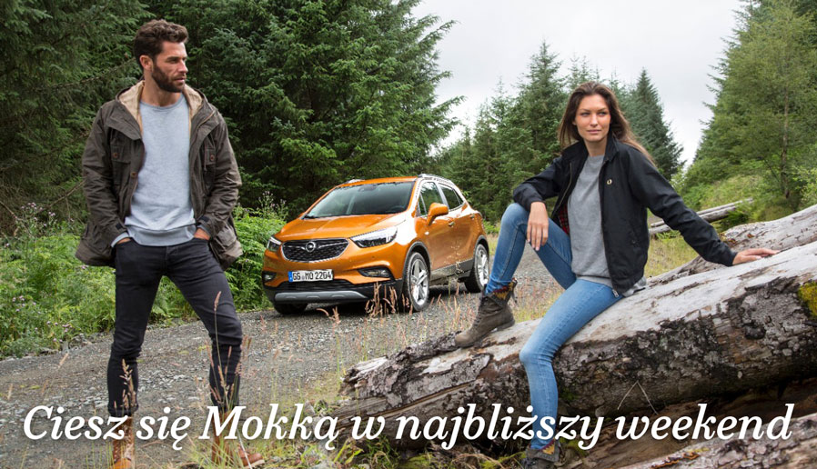 Opel Mokka, on i ona, plener