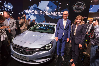 Opel Astra V, Karl-Thomas Neumann, Mary Barra