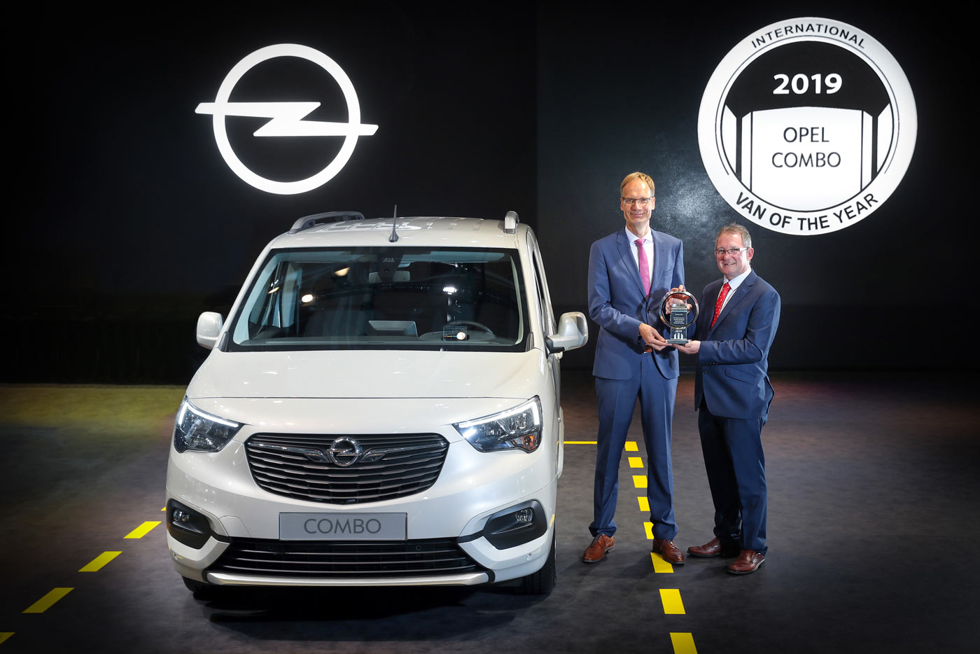 Opel Combo Cargo Van of the Year