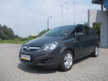 Opel Zafira 1,8 140KM 7-osobowa