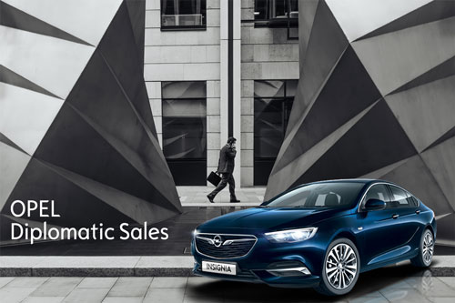 Opel Diplomatic Sales