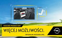 Voucher, kupon rabatowy akcesoria Opel