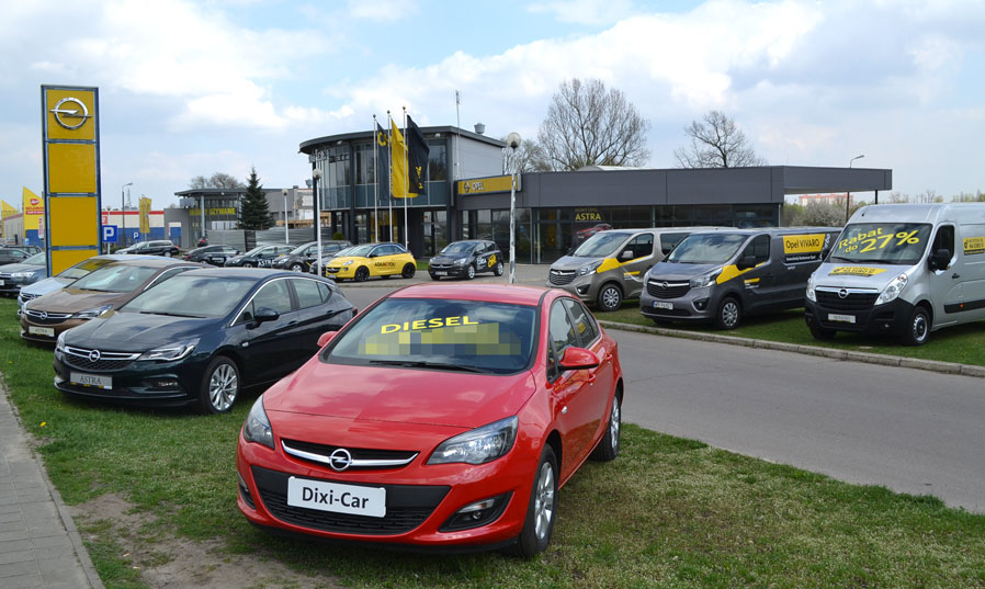 Salon Opel Radom