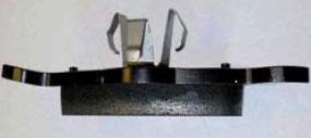 Klocek ze zdeformowaną płytką