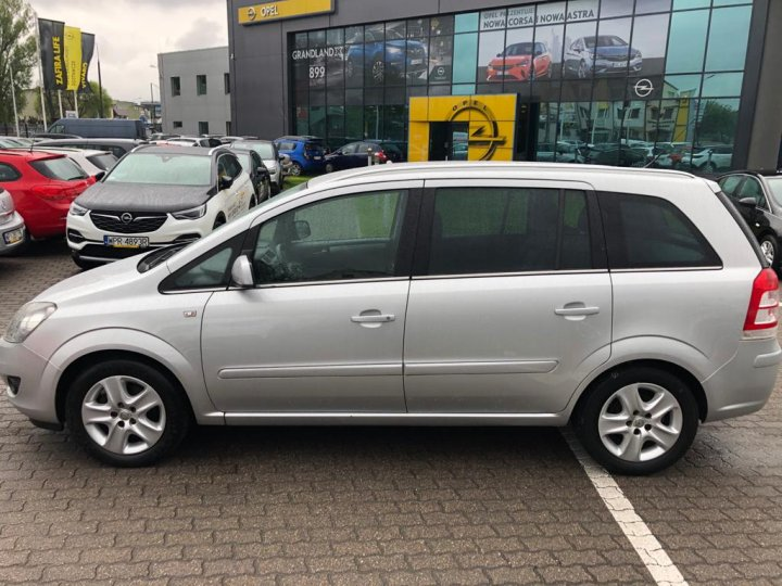 Opel Zafira B 1,6 16V 7 osób, Salon PL
