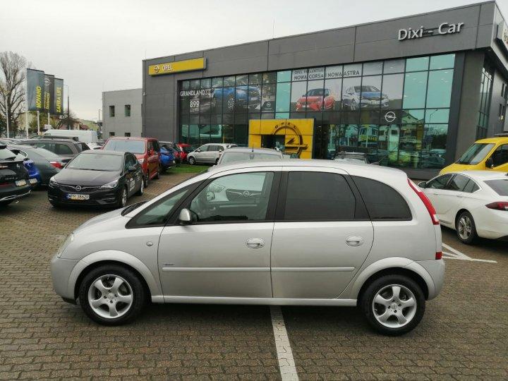 Opel Meriva A 1,4 benzyna 90KM, serwis ASO