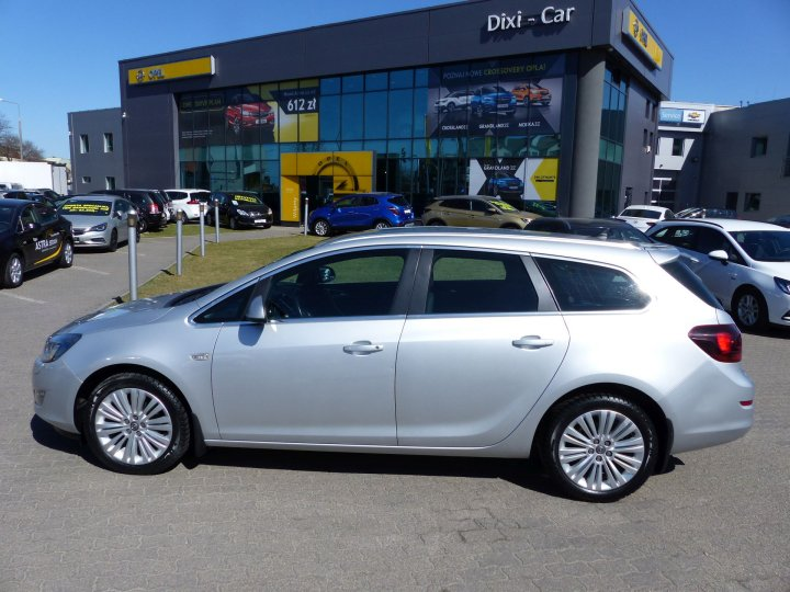Opel Astra IV Sports Tourer 1,4 Turbo 120KM, Sport, Salon PL