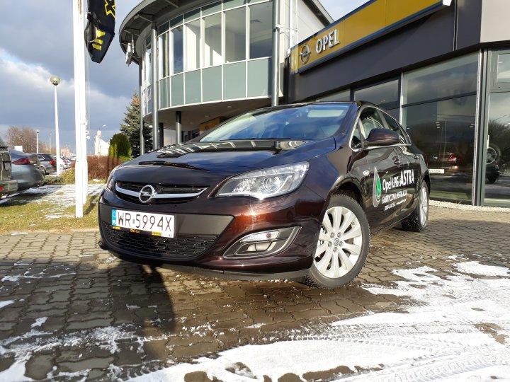 Opel Astra 1.4 140KM fabryczna instalacja gazu