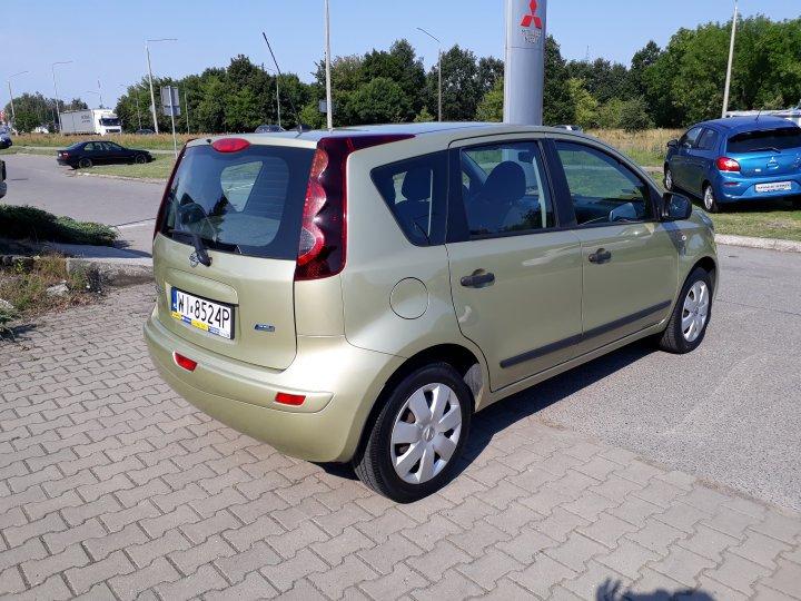 Nissan Note 1.4 88KM Benzyna