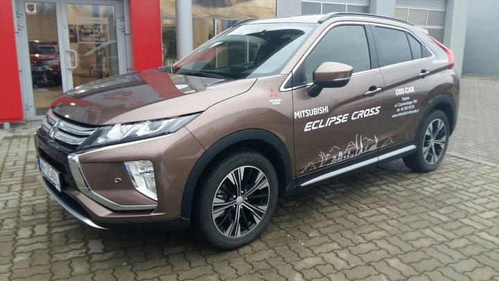 Mitsubishi Eclipse Cross Intense 1.5T 163KM benzyna MT6