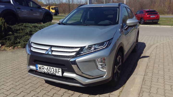 Mitsubishi Eclipse CROSS Invite Plus 2WD 1,5 turbo 163KM