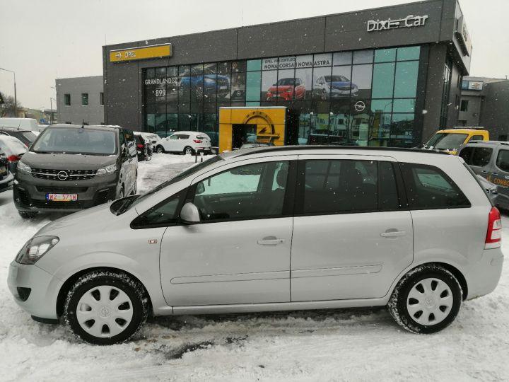 Opel Zafira B 1.8 140KM Niski Przebieg NAVI Serwis ASO Gwarancja
