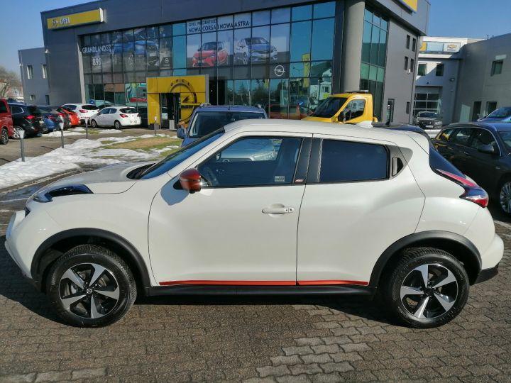 Nissan Juke 1.6 BOSE Navi Kamera Biała Perła rej.2019 Salon PL Gwarancja