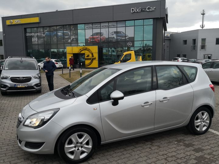 Opel Meriva 1.4 Turbo Niski Przebieg Serwis ASO Gwarancja