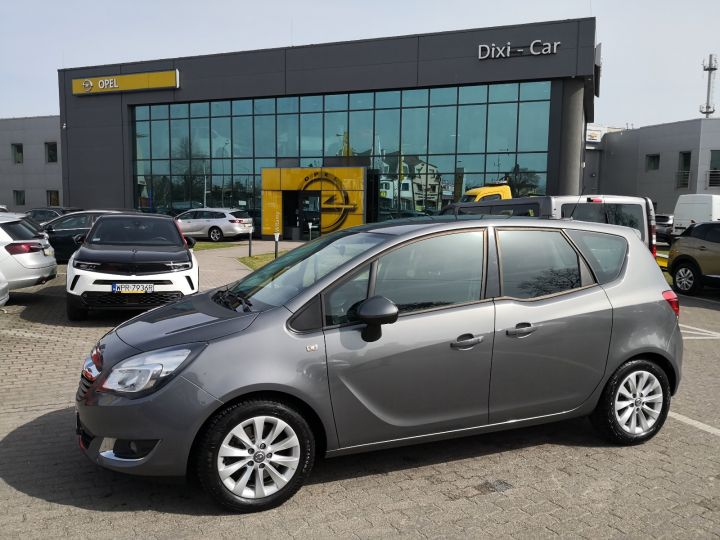 Opel Meriva B 1.4 140KM Navi Niski Przebieg Serwis ASO Gwarancja