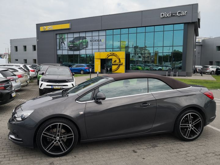 Opel Cascada 2,0 CDTI 165KM, Automat, Skóry, Navi, Bluetooth