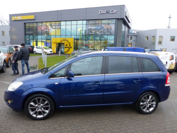 Opel Zafira 1.8 140KM Cosmo Skóra Xenon Niski Przebieg