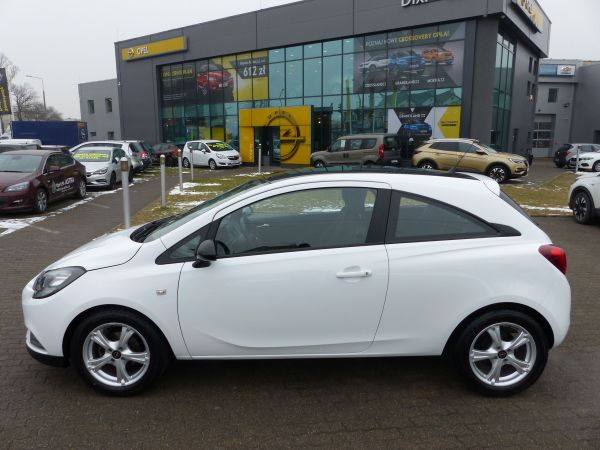 OPEL CORSA E 1,4 90KM BLACK & WHITE, Sensory, Bluetooth