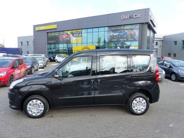 Fiat Doblo II 1,6 Multijet 90KM, 5 osób, Navi, 2xdrzwi odsuwane