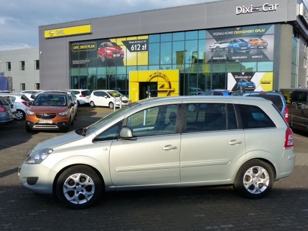 Opel Zafira B 1.6 16v 115KM Bardzo Niski Przebieg Gwarancja